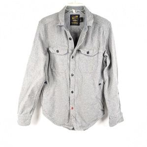Urban Outfitters CPO Provisions Gray Shirt Jacket